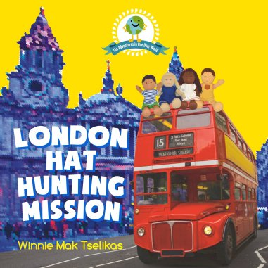 London Hat Hunting Mission - Front Cover