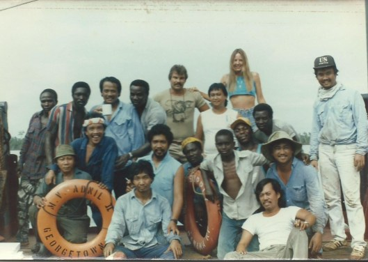 CBG -Rob, Linda and Crew- Off Africa 1988